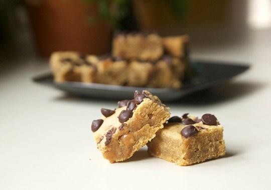 Caramel Maple Peanut Butter Bars