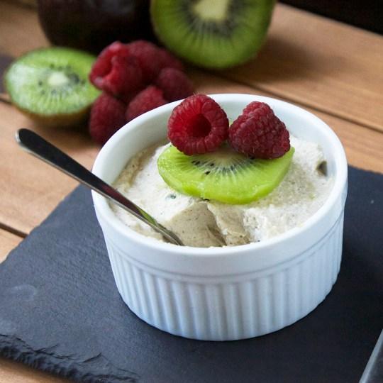 Raw Coconut Passionfruit Pudding Recipe