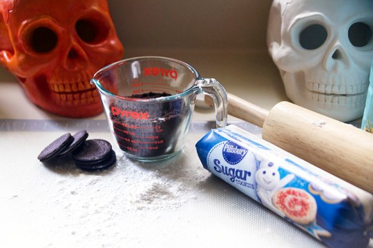 Haunted Halloween Cookie House Supplies