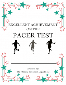 Pacer Certificate