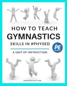 How to teach gymnastics in physical education 4 week unit of instruction fandeluxe Image collections