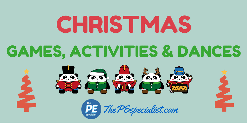 Fun Holiday Themed Christmas Activities for PE Class