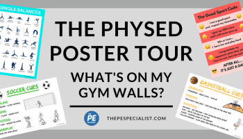 How to teach gymnastics in physical education pe poster tour whats on my gym walls fandeluxe Image collections