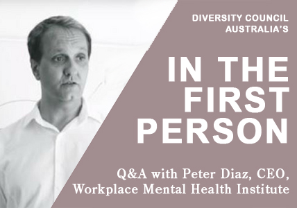 Peter Diaz QA with Diversity Council Australia