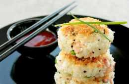 Chinese fried rice cakes make a fantastic lunch/dinner/snack and are loaded with flavors. Ready in less than 30 mins and sure to please kids and grown ups! recipe by the petite cook