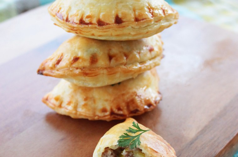 Easter Empanadas with lamb and mushroom recipe