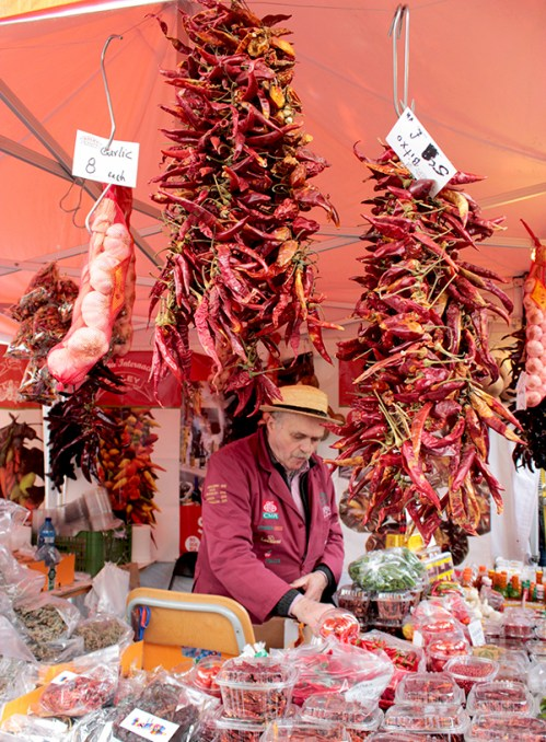Streets of Spain London spanish hot peppers