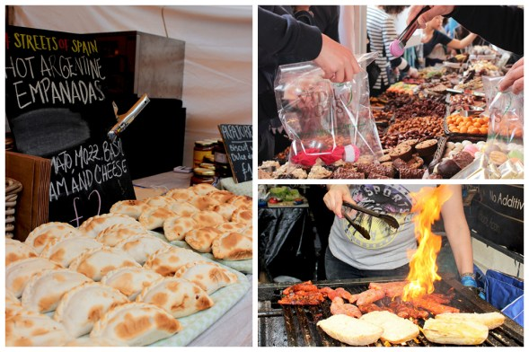 streets of spain food festival in london