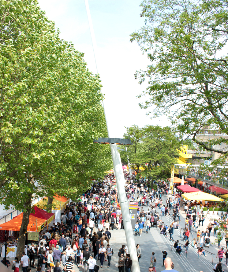 south bank streets of spain food festival in london
