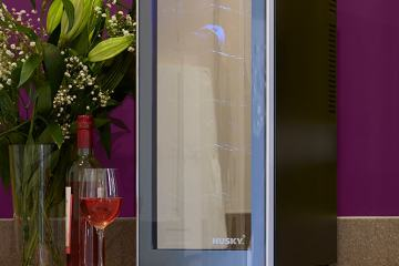 WIN a Fantastic Wine Cooler worth over £150 offere by The Petite Cook and Husky