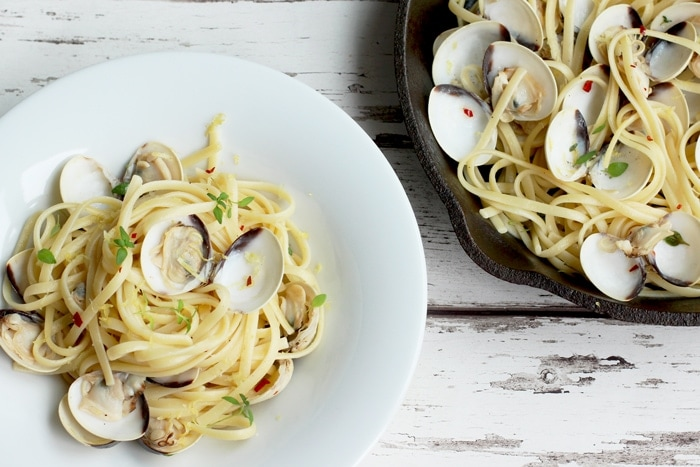 linguine-with-clams-and-lemon