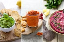 Whether you're looking for the perfect party finger food, or simply craving something tasty to snack on in the afternoon, these quick tortilla chipdips are sure to be a hit! Recipes from The Petite Cook