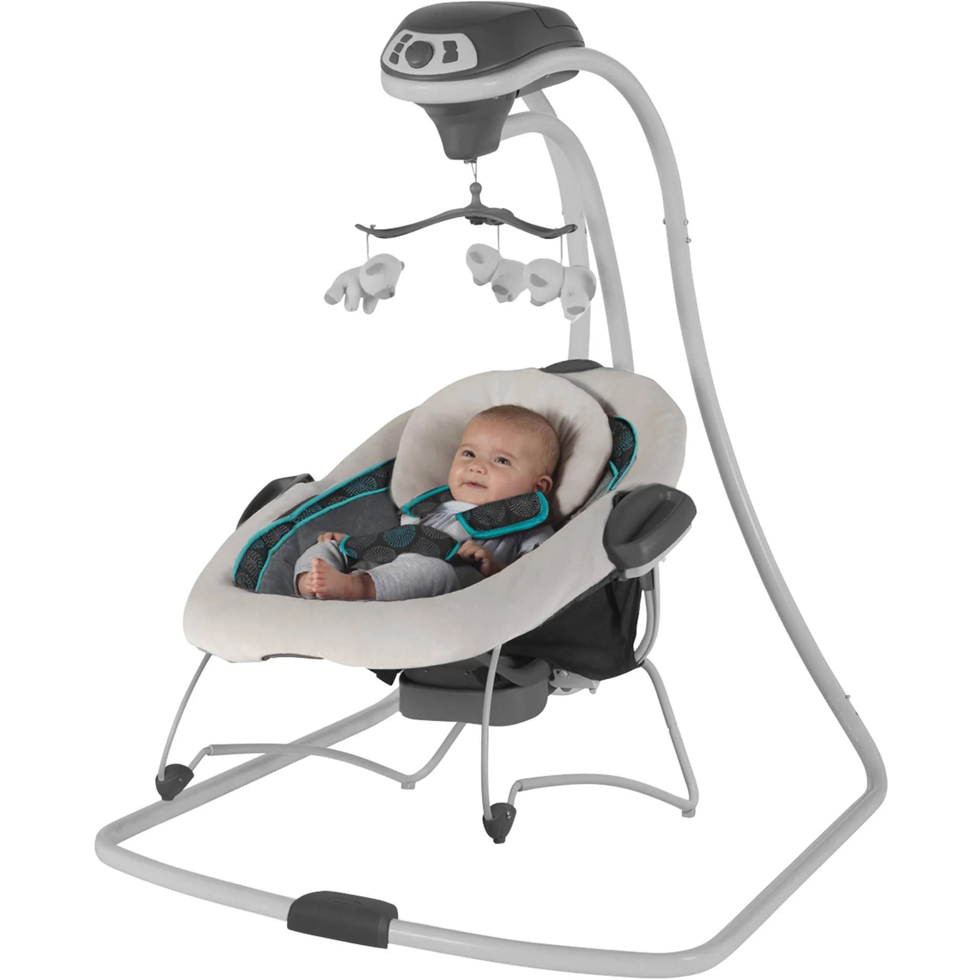 baby swing chair nz back comfort chairs graco duet connect san marino