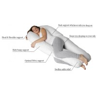 UltimateSkies Sleep U  Total body support Pregnancy pillow