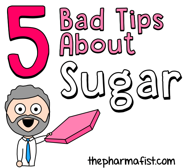 5 bad tips about sugar (title)