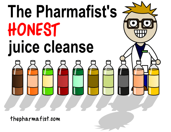 The Pharmafist's HONEST juice cleanse