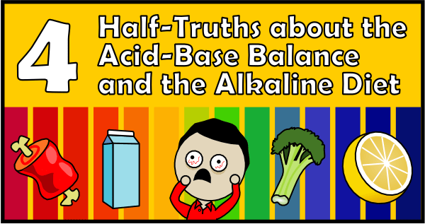 4 Half-Truths about the Acid-Base Balance and the Alkaline Diet