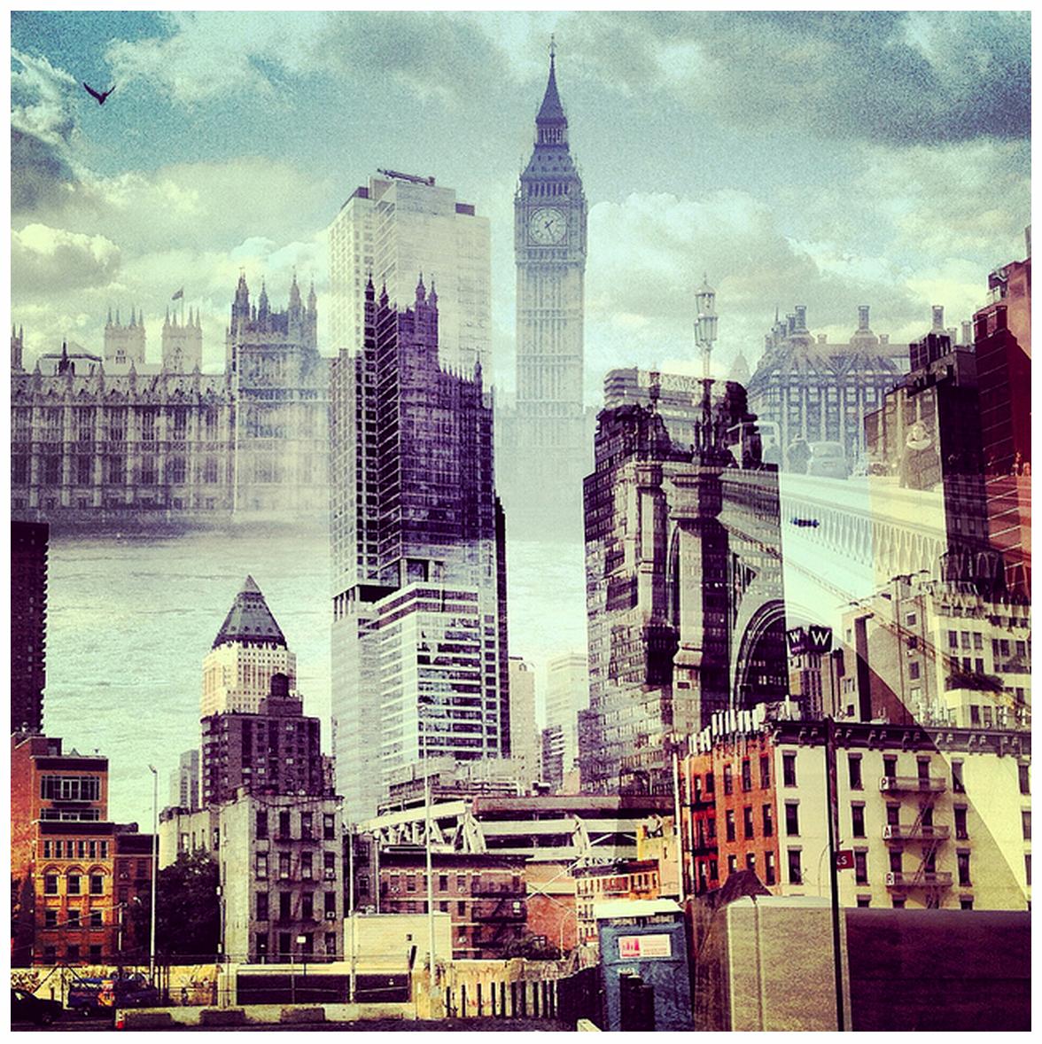 Daniella Zalcmans New York and London Juxtaposition Photos  The Phoblographer
