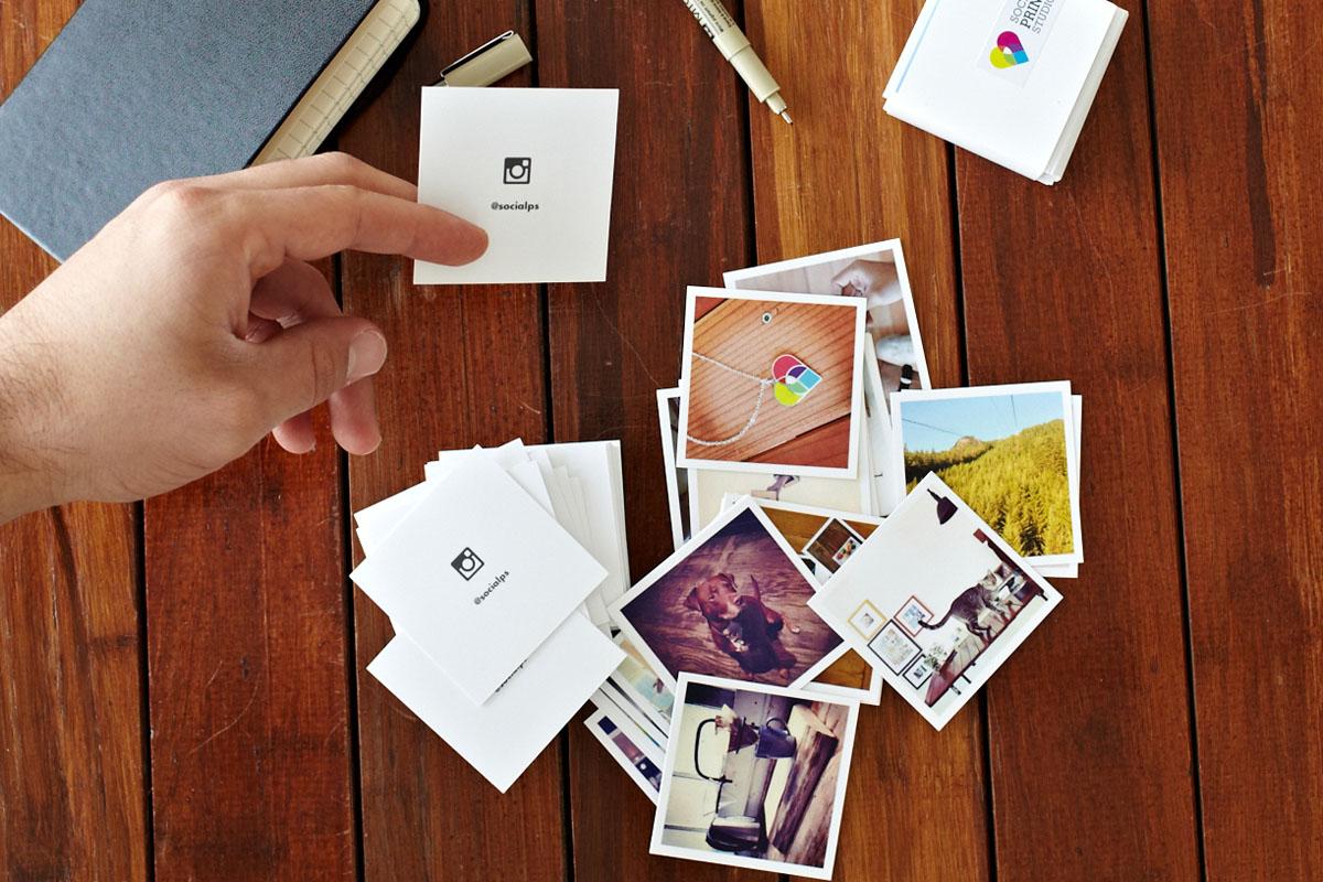 Social Print Studio Lets You Turn Your Instagram Images