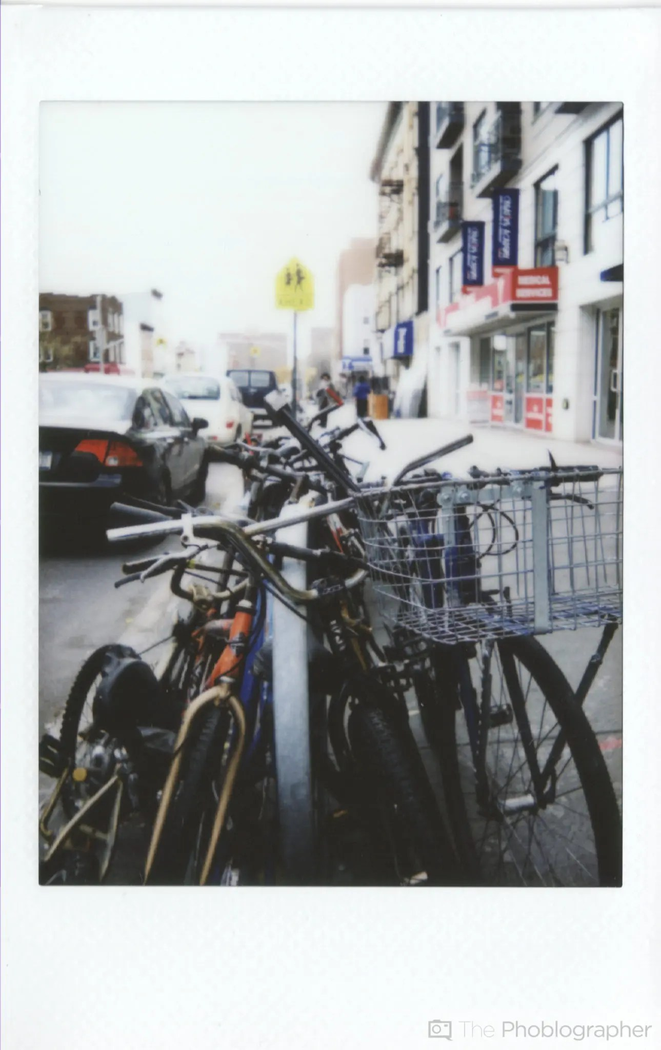 Chris Gampat The Phoblographer Fujifilm Instax Mini 70 scan bikes (1 of 1)
