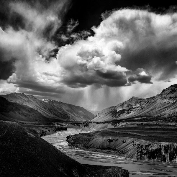 Jayanta Roy' Himalayan Odyssey Hypnotic Black And White Landscape Series