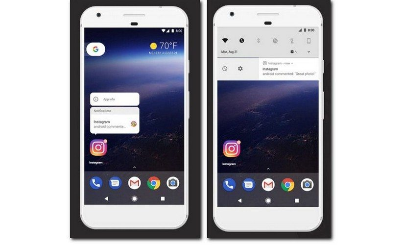 Android 8.0 Oreo Notifications