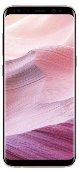 Samsung Galaxy S8 Pink Color 1