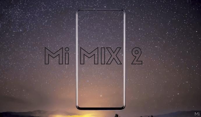 Xiaomi Mi MIX 2 concept design