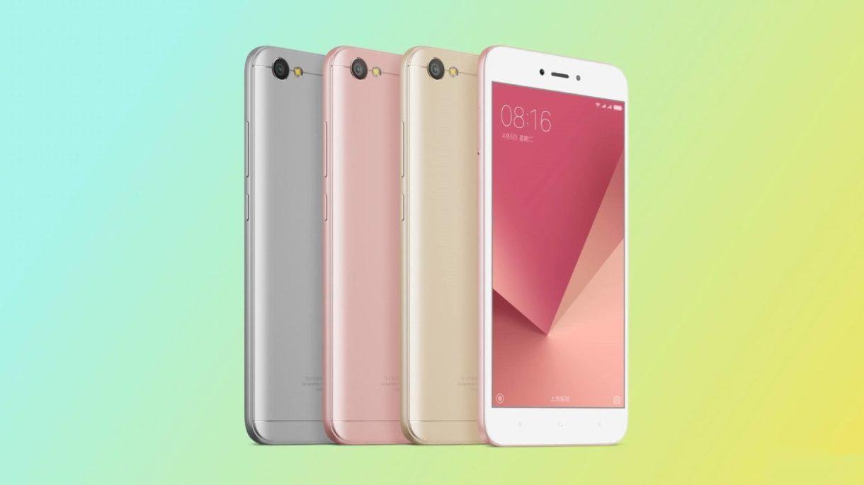 Xiaomi Redmi Note 5A colors 1
