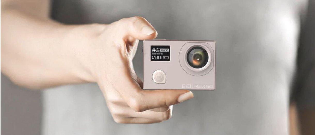 Elephone REXSO Explorer Dual 4K Action Camera - design