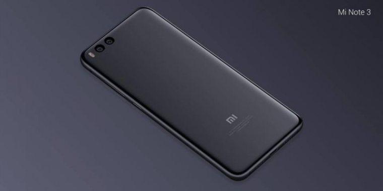 Xiaomi Mi Note 3 – 4