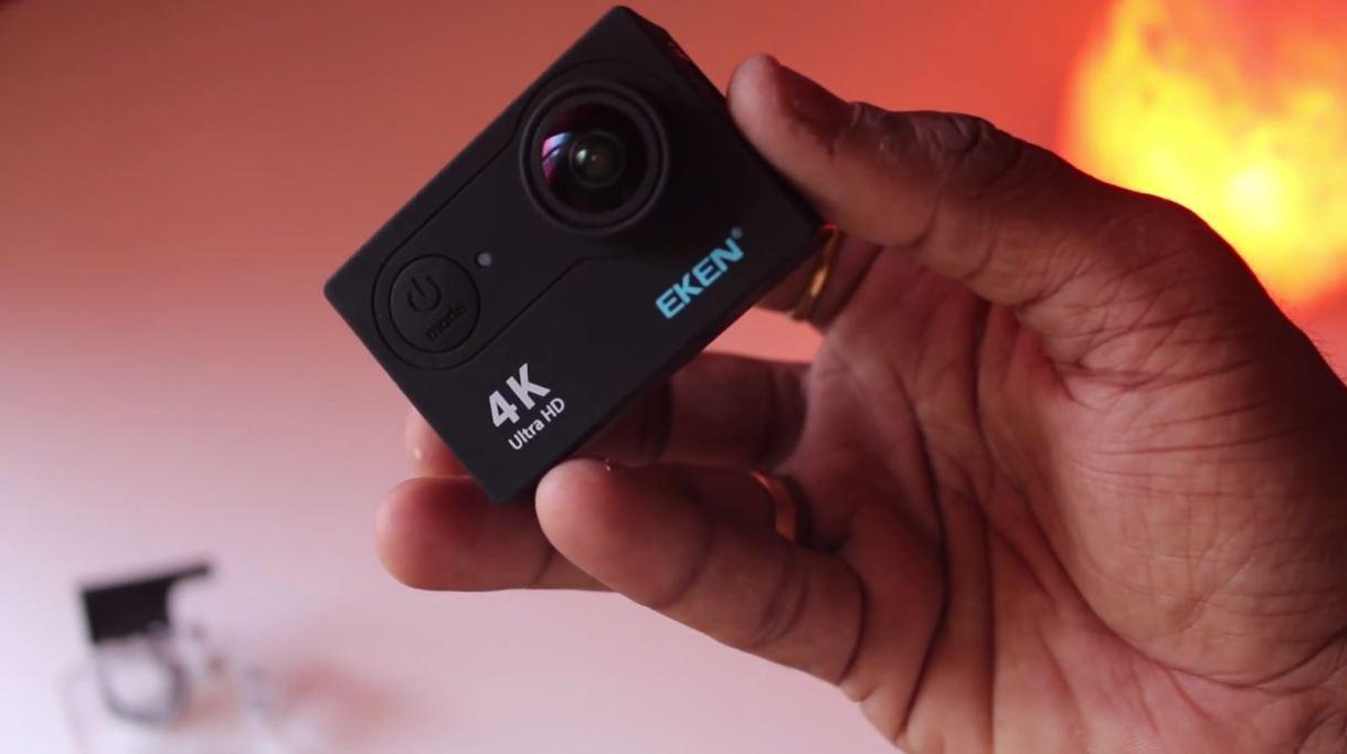 eken h9r 4k action camera - front