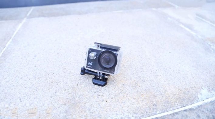Furibee H9R 4K Action Camera - fromt