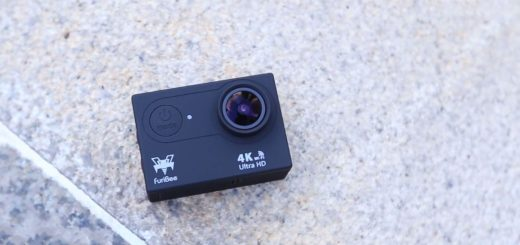 Furibee H9R 4K Action Camera - front