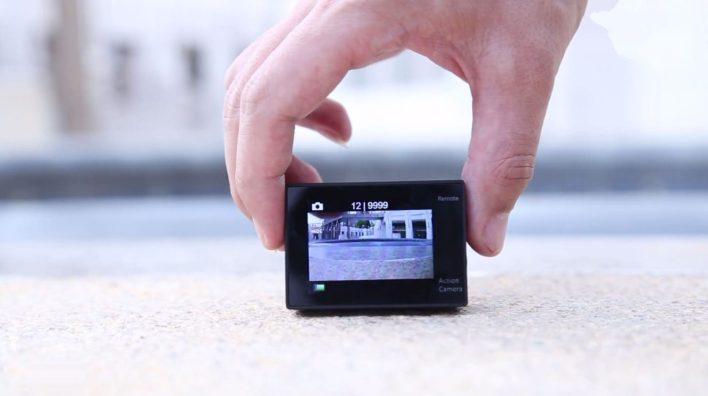 Furibee H9R 4K Action Camera - screen
