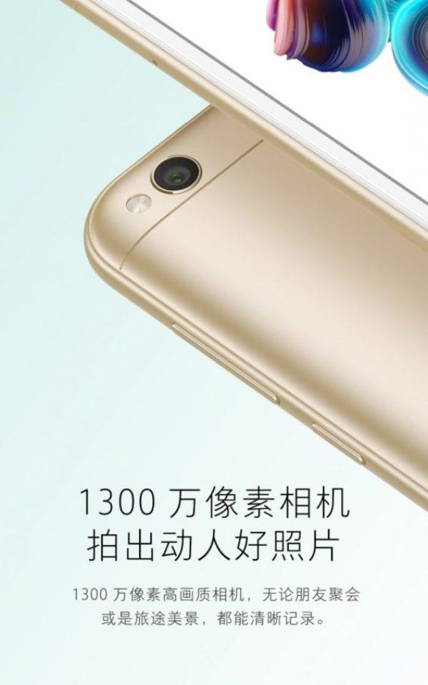 Xiaomi Redmi 5A release 4