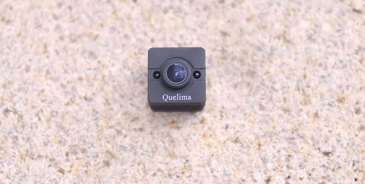 Quelima SQ12 Mini DVR Review - front