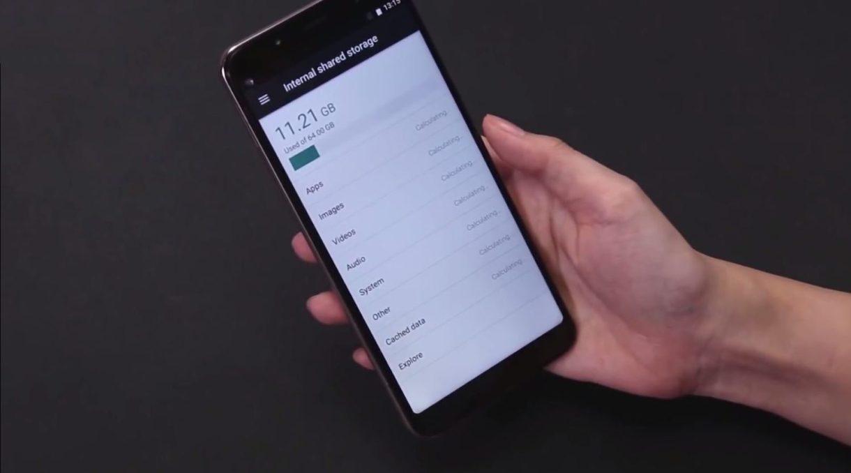 Ulefone Power 3 Preview - storage
