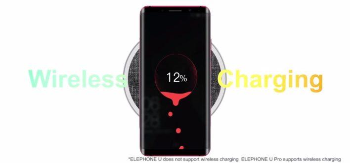 Elephone U Pro - Wireless charging