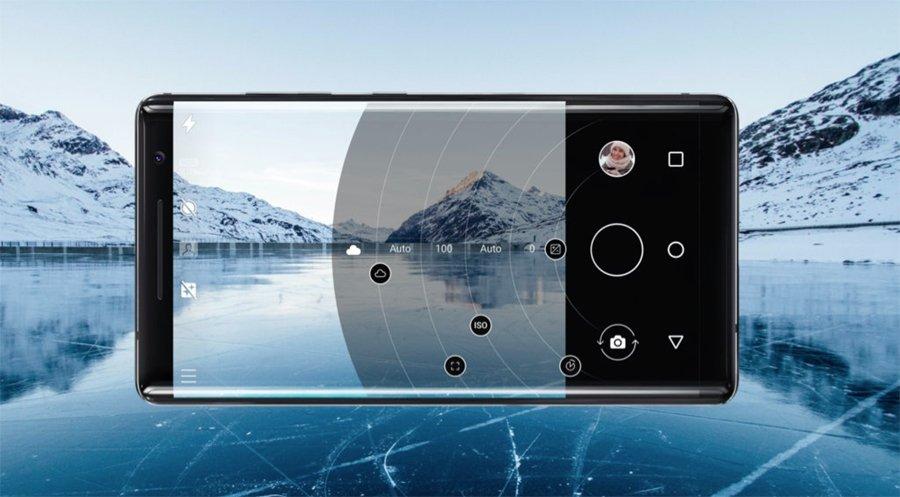 Nokia 8 Sirocco camera UI