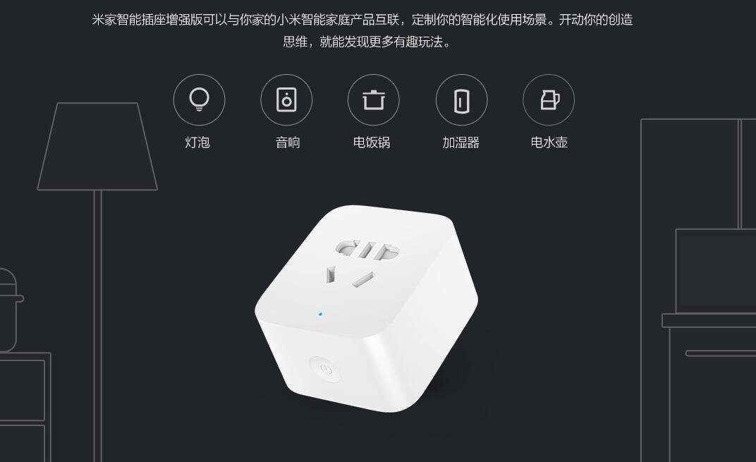 Xiaomi Mijia Mi Home Smart Socket Enhanced Version