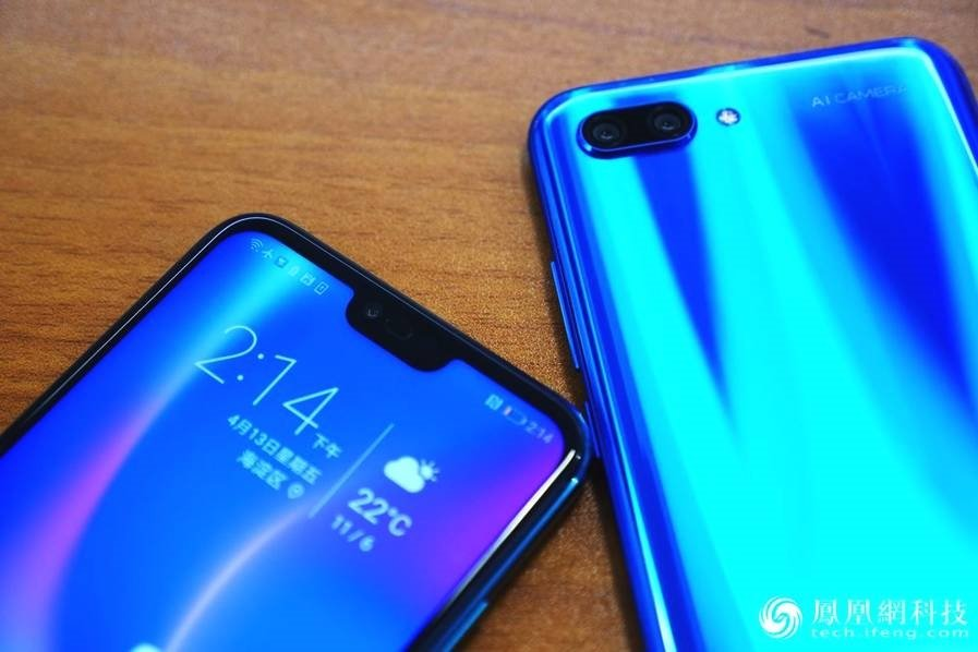 Huawei Honor 10 Hands-On Review Top