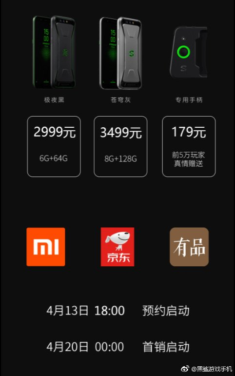Xiaomi Black Shark Gaming Phone price
