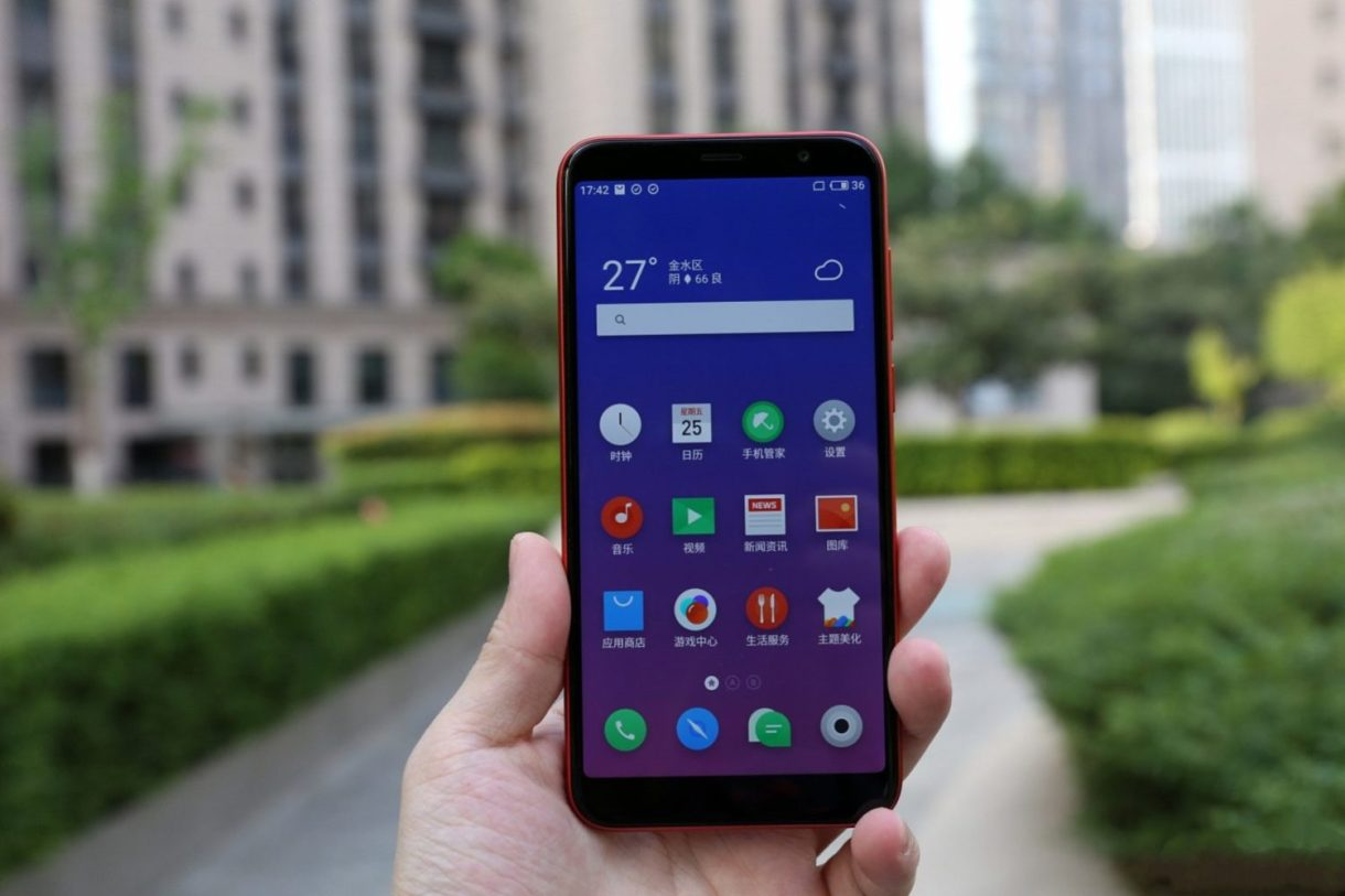Meizu M6T Review - front screen