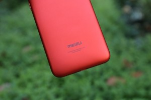 Meizu M6T Review - rear logo