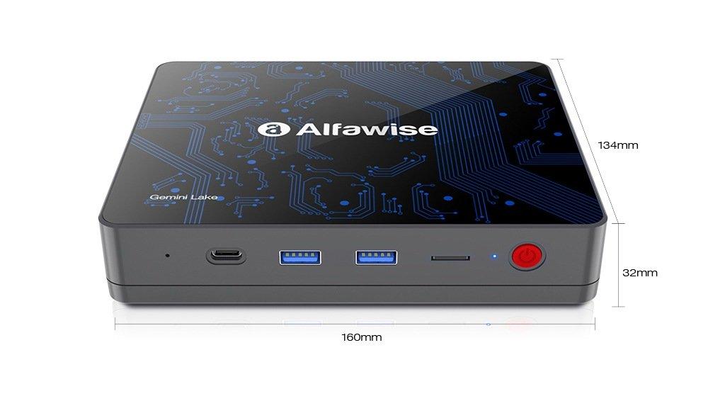 Alfawise T1 Mini PC Dimensions
