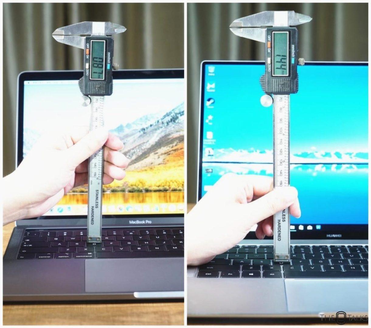 Huawei MateBook X Pro Vs Apple MacBook Pro 2018 Comparison Review - Keystroke Comaprison