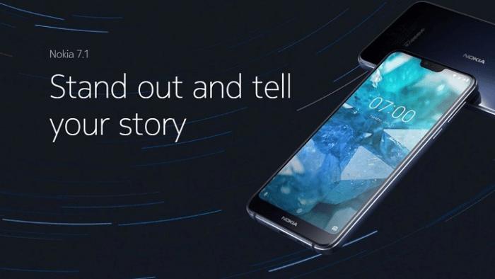 Nokia 7.1 Smartphone