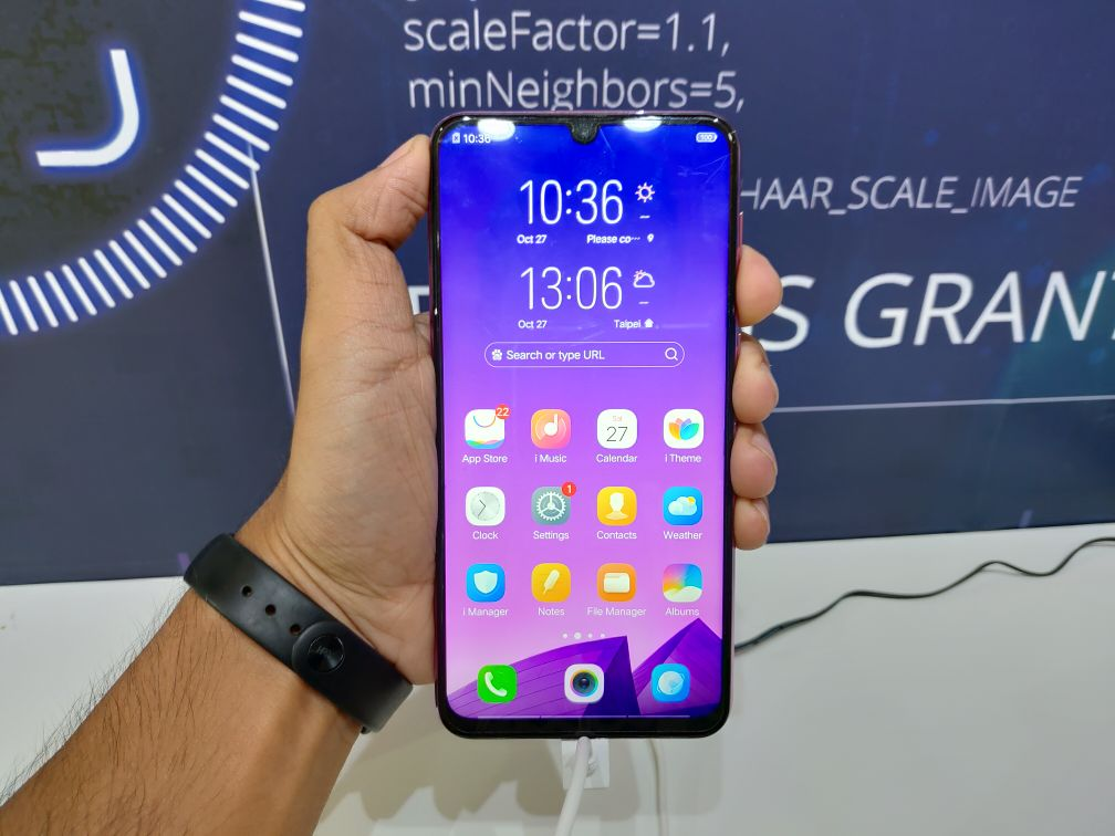 Vivo Y97 Hands-On - Dock