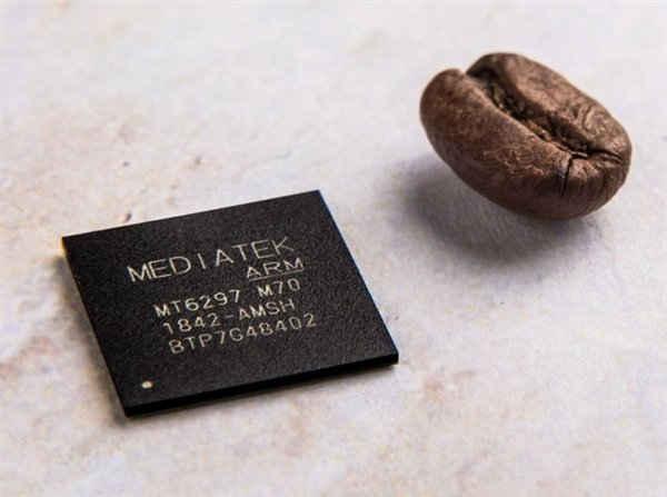 MediaTek Helio M70 Size